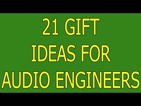 21 Gift Ideas for Audio Engineers Best Presents for Sound Mixers