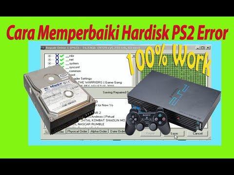 Cara Memperbaiki Hardisk PS2 Yang Error 100% Work