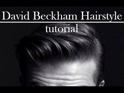 Hair Slick Back Modern Pompadour David Beckham Inspired