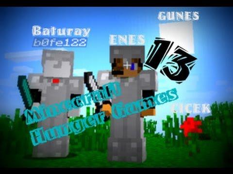 Minecraft-Hunger Games(Açlık Oyunları) - Enes ile Baturay Bölüm 13