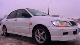 2002 Mitsubishi Lancer Cedia Touring. Обзор (интерьер, экстерьер, двигатель).