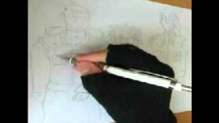 Naruto-Iruka-Kakashi [Draw]