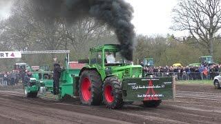Trecker Treck 2016 Wakendorf 2, Sportklasse Plus  | Tractor Pulling