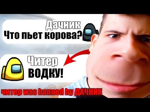 САМЫЙ ТУПОЙ ЧИТЕР В АМОНГ АС #5