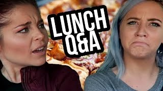 BABIES OR MUFFINS?! LUNCH Q&A (Lunchy Break)