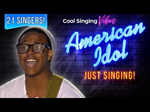 Auditions Day 2: Nashville/Kansas City - 21 Singers: No Judging! - American Idol 2015 - Season 14