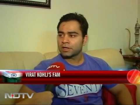 Kohli's family happy for son and Sachin