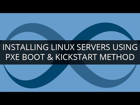 PXE Boot Tutorial | Installing Linux Servers using PXE Boot & Kickstart  Method | Learn DevOps