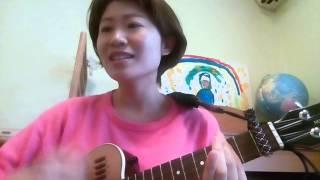 lovin'  you ukulele cover by サユリンゴジラ