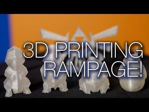 Makerbot 3D Printing LiveStream Test