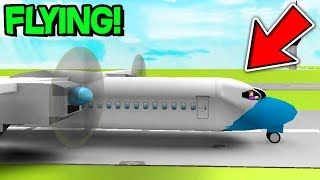 FLYING THE WORLD'S BIGGEST PLANE IN ROBLOX! ROBLOX FLIGHT SIMULATOR!