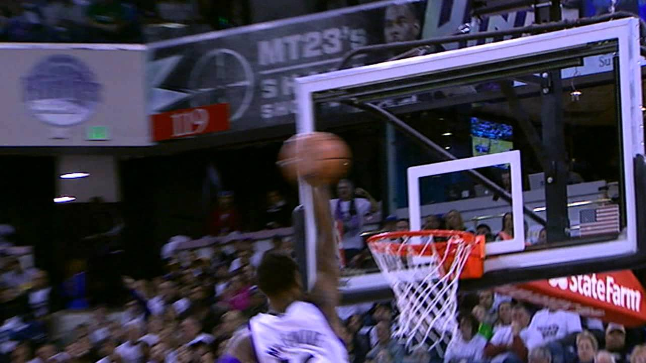Ben McLemore's Emphatic Fastbreak Slam