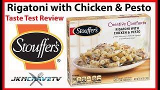 FROZEN FRIDAY: Stouffers Classics - Rigatoni with Chicken & Pesto Review   JKMCraveTV