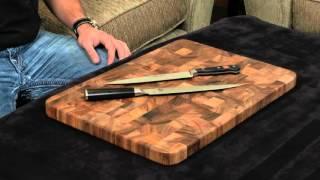 Shun Classic vs Wusthof Classic — Slicing Knife.