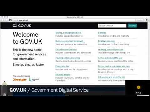 Black Pencil Winner 2013 - Gov.uk - Government Digital Service
