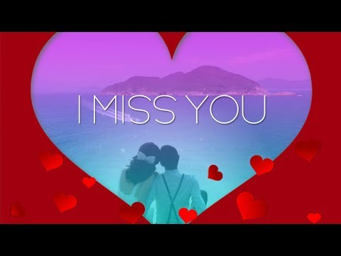 ❤💕I miss you - Long distance message