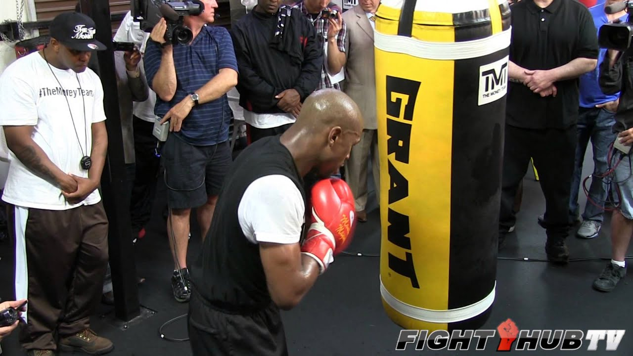 Floyd Mayweather Vs Robert Guerrero Mayweather Heavy Bag