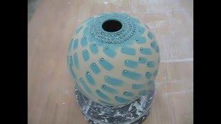 정인석 도예연구소-정인석 도예가 백자토로 만든 항아리에 미리내 문양넣기Korea Ceramic, Korea Pottery, Korea Ceramic Art 3