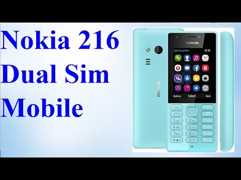 Nokia 216 Dual Sim Mobile by Hi Tech