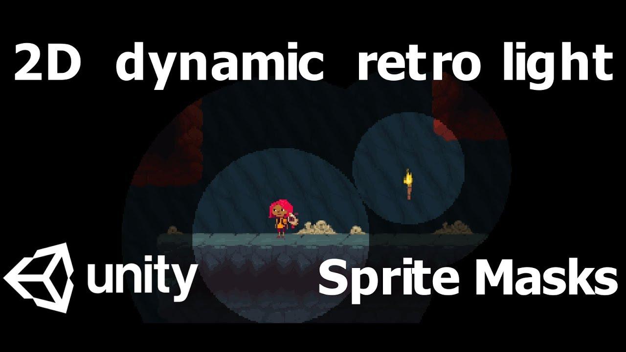 2D lighting for Tilemaps in Unity