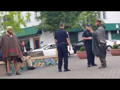 Ashland Oregon Police At Work - Pt. 1