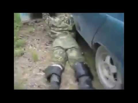 Машина заглохла в лесу ,Хозяин орёт,психует)))