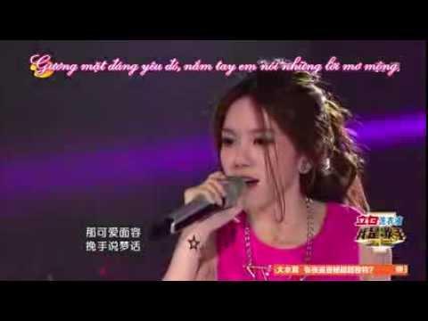 [Vietsub] (Tôi là ca sỹ) Thích em - Đặng Tử Kỳ