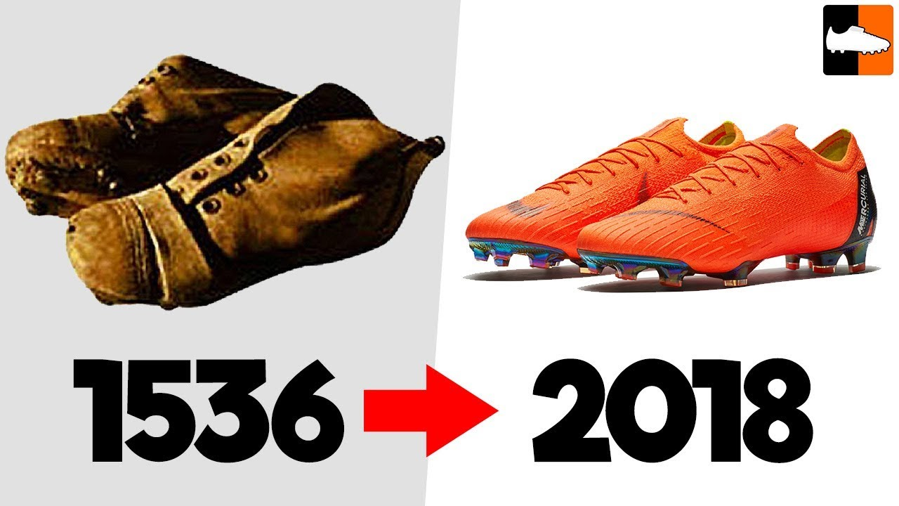 The Evolution of Football Boots!! Soccer Cleat History ...