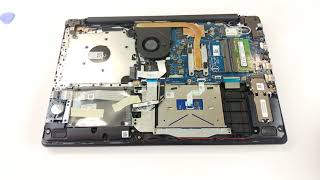 Dell Inspiron 15 3580 - disassembly and upgrade options