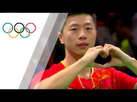 World Number One Ma Wins Gold In Men's Table Tennis Singles