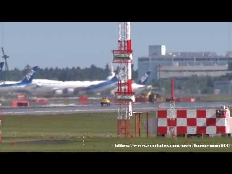 ✈緊急着陸 Emergency landing 日本貨物航空 (Nippon Cargo Airlines) Boeing 747-8F NARITA RWY34R