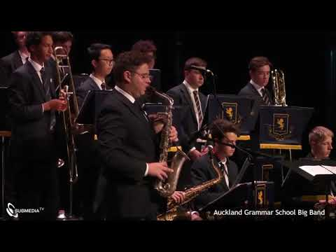 Auckland Grammar Big Band - National Jazz Festival 2019