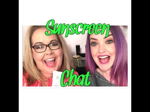 Sunscreen chat for woman over 40