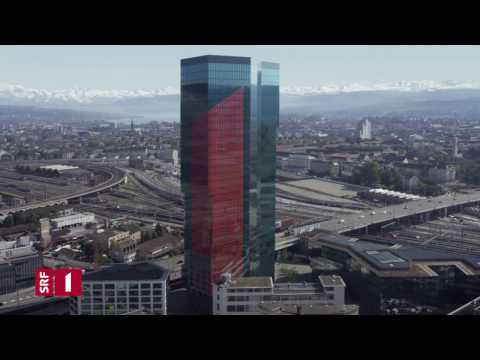 SRF 1 Idents 2.0 Tower // theblackdrone GmbH