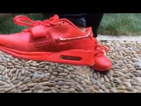 Nike Air Max 90 Yeezy 2 Volt