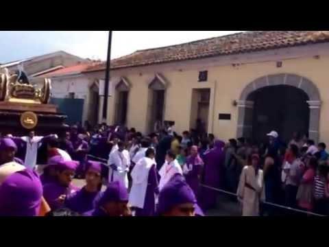 Holy Week procession in Antigua, Guatemala