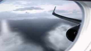 FSX DX10 HD | KLM 737-900 ngx | Madeira Airport Landing