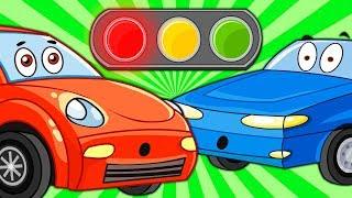 Развивающие и обучающие мультики про машинки - Такси Электромобиль Кабриолет - Мультфильмы для Детей