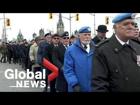 Remembrance Day: Canadian Veterans Endure Past And Present Pain
