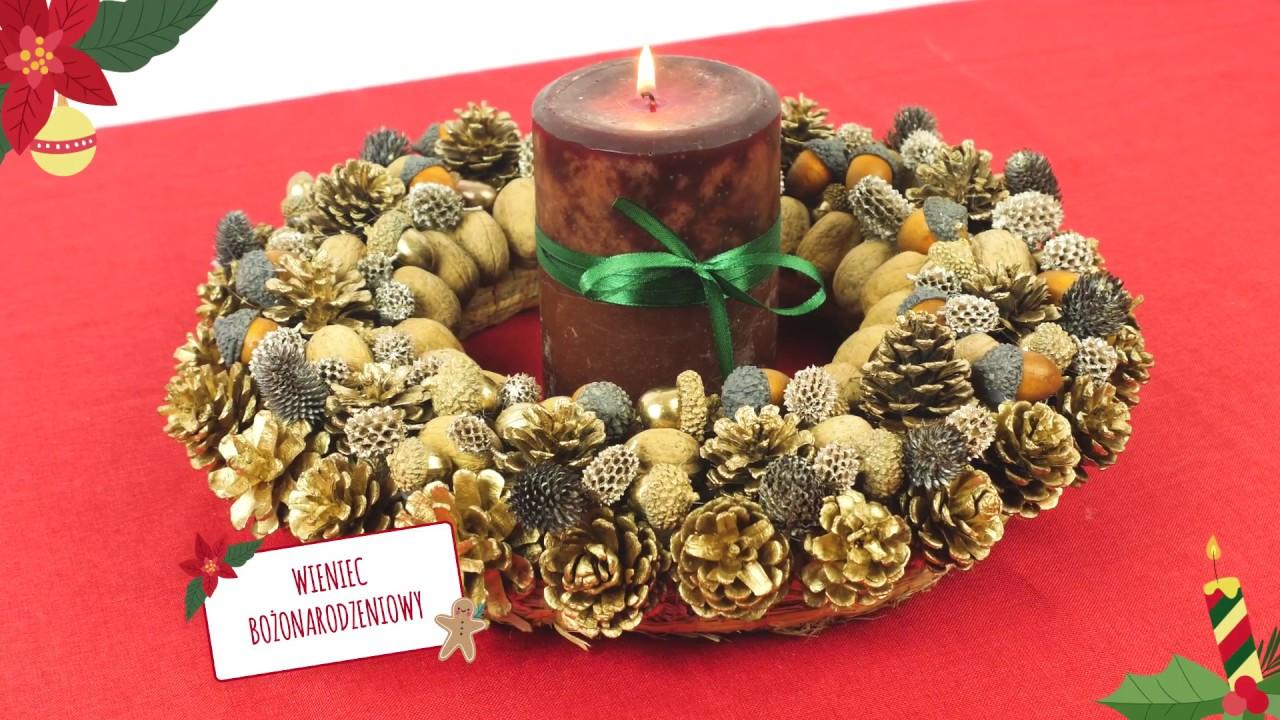 Jak zrobić wianek świąteczny na drzwi? #diy #święta