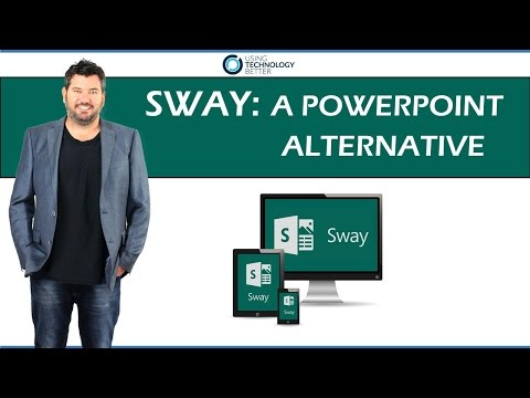 Sway: A PowerPoint Alternative from YouTube · Duration:  4 minutes 39 seconds