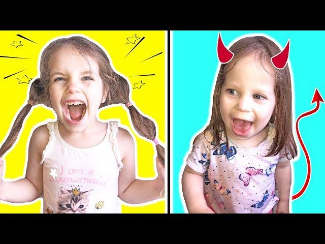Алёна и Аня История про дружбу и о том как не надо себя вести детям