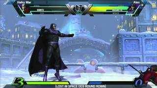 UMVC3: Haiku War vs Alex - Round Robin - LOST IN SPACE 003