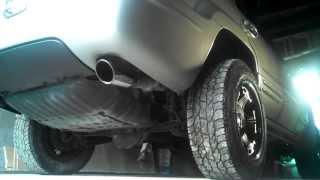 jeep grand cherokee wj 4 7 v8 3 powerstick exhaust startup and rev
