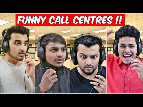 Funny Call Centres & Callers 1 l The Baigan Vines