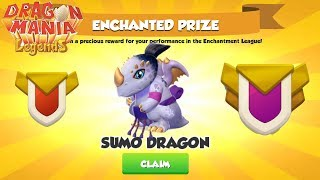 [ Wow ] 🐉I got Sumo Dragon - Dragon Mania Legends Enchant League - Part 805
