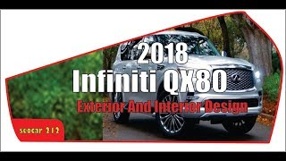 Looks This !!! 2018 Infiniti QX80 Specifications