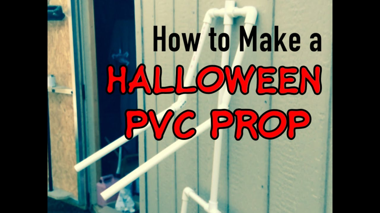 how to make a pvc halloween prop haunters workshop youtube - Making Halloween Props