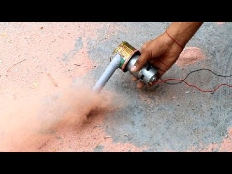 how to make air blower at home