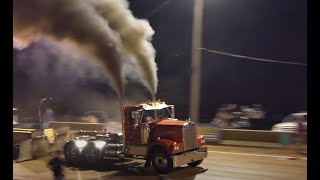Another Awesome Tractor and Truck Pulling Battle